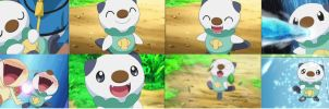 Oshawott Collage by ryanthescooterguy