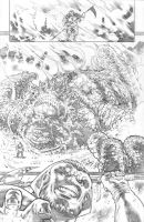 justice league 23.1 Darkseid page 07 pencil by PauloSiqueira