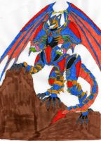 Shadow Fang Drago - Colored by dragonheart07
