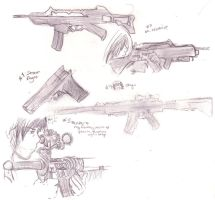 GUNS 3 by DriRose