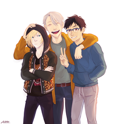 Yoi Trio by Alexgv-art