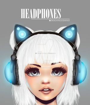 Headphones by DollDigitalDesign