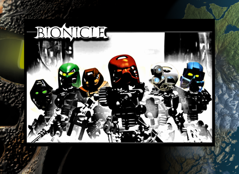 Bionicle Poster HD by 8-Cell-Art