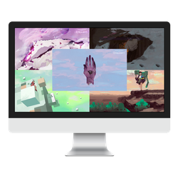 Porter Robinson - Worlds (Wallpaper Pack) by PlusJack