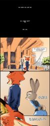 Zootopia: Purple Tulips (1/2) by TheWyvernsWeaver