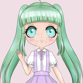 Lolita Girl - Mint Inspired [WIP] by Bec-Productionz