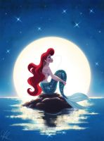 The Little Mermaid - Anniversary Piece by DylanBonner