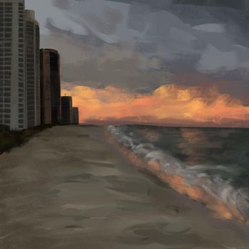 Sunny Isles - practice thing by mariebite787