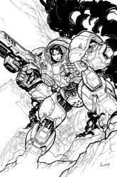 StarCraft cover 2 BW by Chuckdee