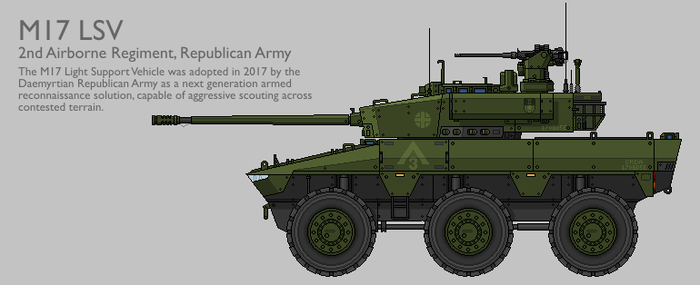 M17 LSV Production Standard [Coloured] by SixthCircle