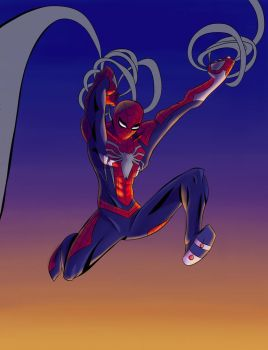 Spiderman PS4 Hype by EPICamiture2099