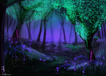 The Whispering Everglade Concept by fang