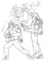 2008 :: The Real Ghostbusters by PinkAppleJam