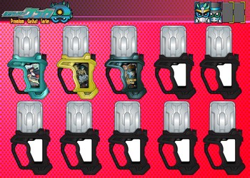 Premium Gashat Collection by netro32