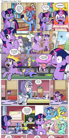 Comic - Twilight's First Day #24 by muffinshire
