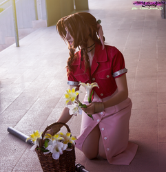 Aerith Gainsborough pt1 by AiridAndKaitoCosplay