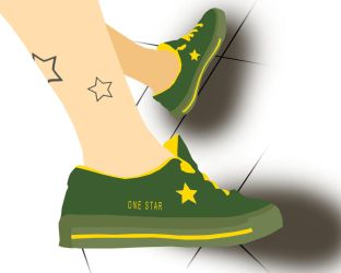 3 star converse one star by couvexx