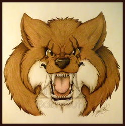 Comm: Snarly Fang by Boltonartist