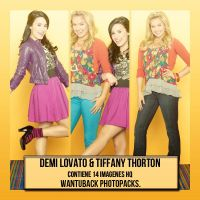 Photopack 224: Demi L. y Tiffany T. by PerfectPhotopacksHQ
