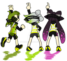 Agent 1, 2, and 3 by Admiral-BG