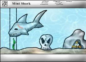 Mr. Sharky by Crysums