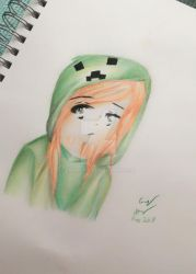 creeper girl by Emily9915