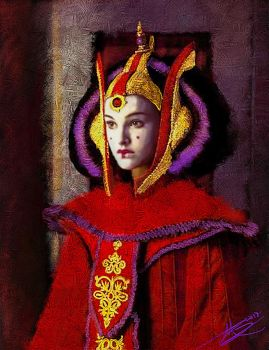 Queen Amidala by paulnery