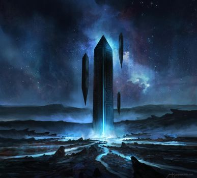 Monolith by JJcanvas
