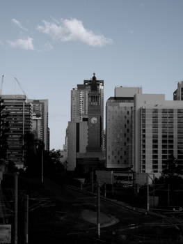 Face of the City by loneantarcticwolf