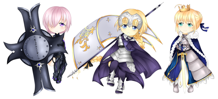 Fate Grill Order by kanachroma