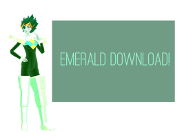 [MMD Model DOWNLOAD] Emerald by AquamarinePeridot