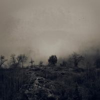 One foggy day - Le calvaire by siamesesam