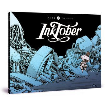 New Book - Inktober by JakeParker