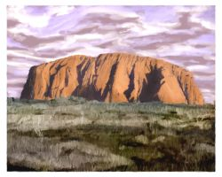Ayers Rock by usualday
