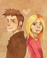 Rose and Ten by Myku