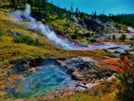 Yellowstone NP by bootlacephotography