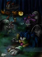 SaNiC HaLlOwEen #5: You Thought We Were Dead? by Blossom-fur7