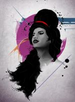 Amy Winehouse by diegodandrea