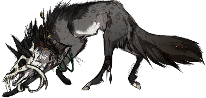 Forest creature adopt 3 by Wrennars
