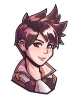 Tracer Portrait by GooBone