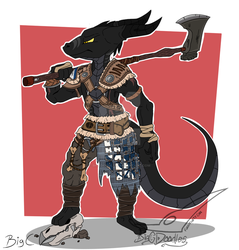 Commission 3 - For honor. by BigCdoodles