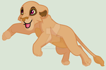Leaping Lion by MaliceInTheAbyss