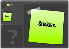 Stickies Icon. by SmellTheRoses93