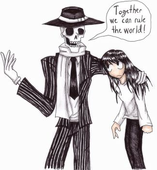 Skulduggery Pleasant by Yosh-chan