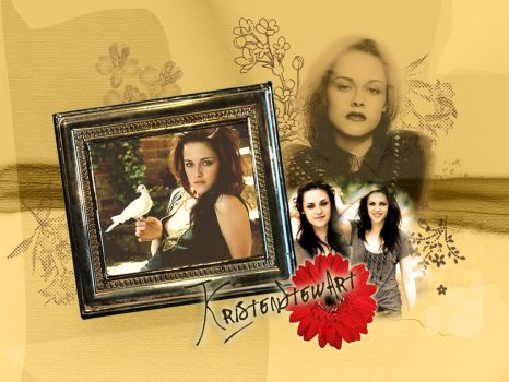 Kristen Vintage Collage by Look-But-Don-t-Touch