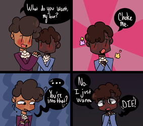 Jeffmads Comic by LittleMissMichele