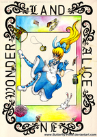 Alice in Wonderland by Butterfly-Hime