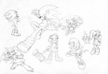 Sonic X  challenge -oldie- by Claudia-C18
