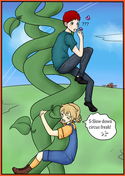 .:T-I:. Julian and the Beanstalk (Page 2) by Skylark-13