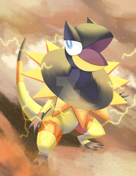 Day 7: Favorite Normal Type by Rock-Bomber